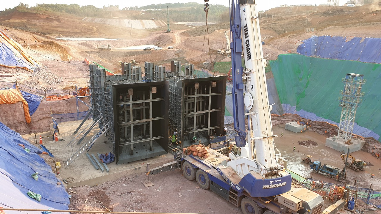 Laos Xe Pian Xe Namnoy HPP New Saddle Dam Mid-Level Outlet Gate Installation Works 첨부파일 : 1587780641.jpg